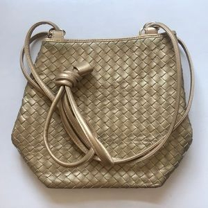 Vintage Leather gold purse